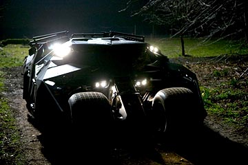 Not quite the Batmobile as I've always pictured it…  but cool.