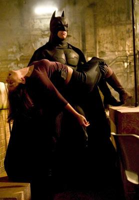 Batman and Rachel Dawes