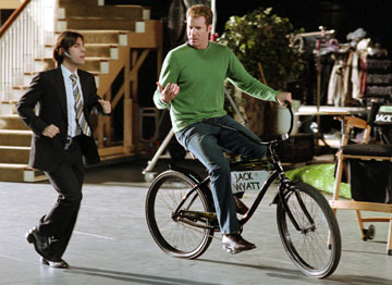 Will Ferrell inside Hollywood