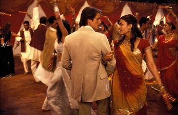One of many colorful dance sequences make B & P a good-looking film.