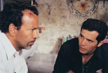 Damián Alcázar and John Leguizamo