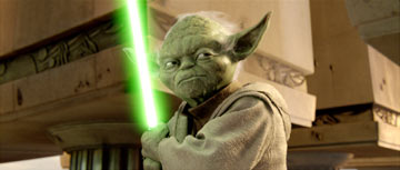 Yoda, why must you too much speak?