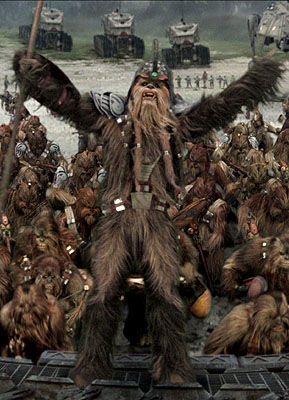 Who could fail to love a Wookiee?