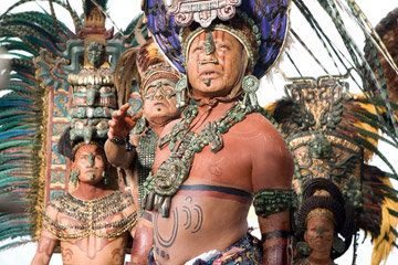 Mayan Priests in Apocalypto