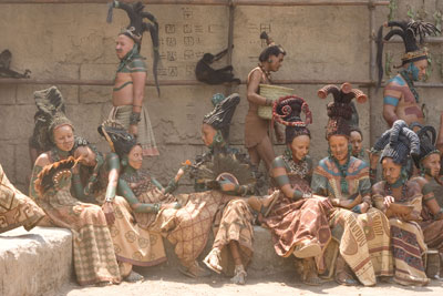Scene in the Mayan City from Apocalypto