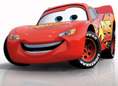 Lightning McQueen voiced by Owen Wilson