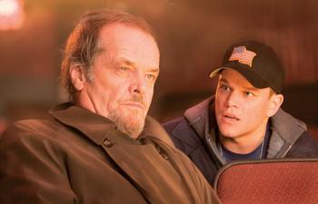 Matt Damon and Jack Nicholson