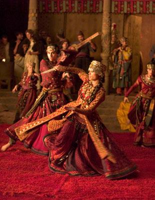 Dancers in Asia