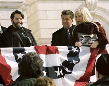Matthew Broderick, Toni Collette and Alec Baldwin